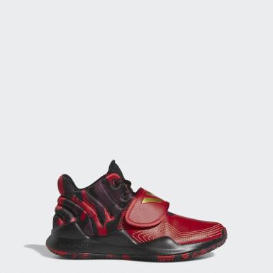 Kinder Basketball Pro Spark 2.0 Schuh Rot