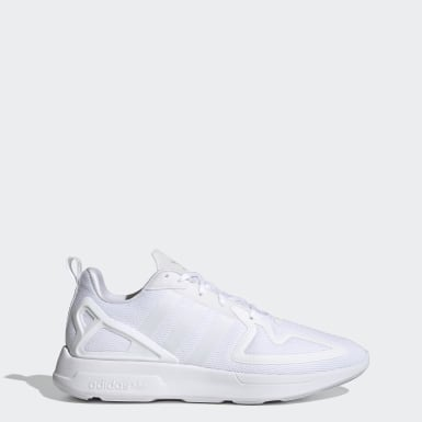 Men's Originals White ZX 2K Flux Shoes