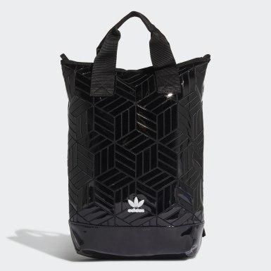 Originals สีดำ กระเป๋าสะพายหลัง Roll-Top