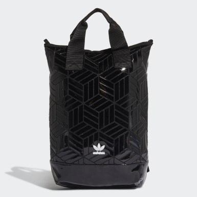 Originals Black Roll-Top Backpack