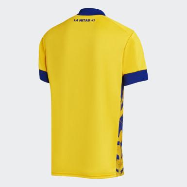 Tercera Camiseta Boca Juniors 20/21 Amarillo Hombre Fútbol