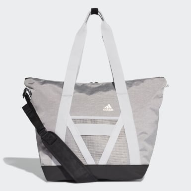 Women Training Grey ID Tote Bag
