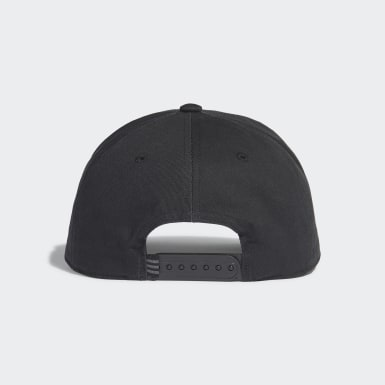 Originals Black Trefoil Trucker Cap