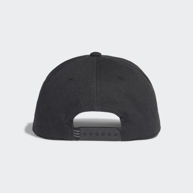 Originals Black Trefoil Trucker Cap