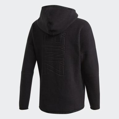 Girls Træning Sort adidas Z.N.E hoodie