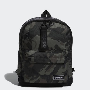 Women Sport Inspired Green Classic Camo Backpack Small