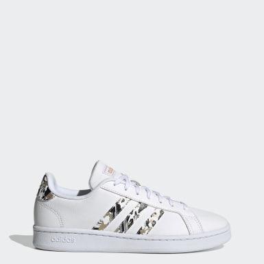 Sapatos Grand Court Branco Mulher Ténis