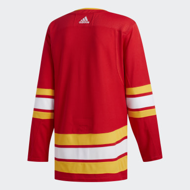 Hockey Multicolor Flames Alternate Authentic Jersey