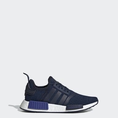 Youth 8-16 Years Originals Blue NMD_R1 Shoes