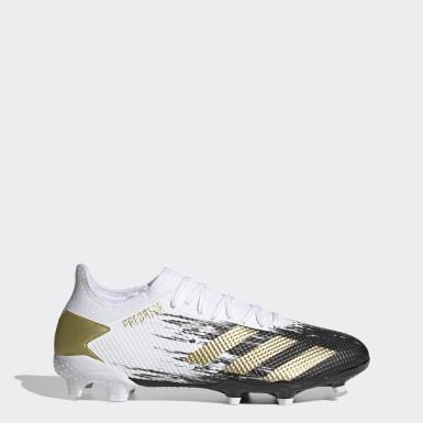 ฟุตบอล สีขาว รองเท้าฟุตบอล Predator Mutator 20.3 Low-Cut Firm Ground
