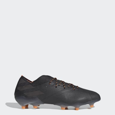 ผู้ชาย ฟุตบอล สีดำ รองเท้าฟุตบอล Nemeziz 19.1 Firm Ground