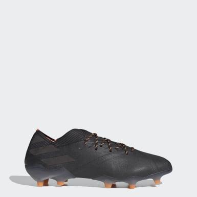 Botas de Futebol Nemeziz 19.1 – Piso firme Preto Futebol