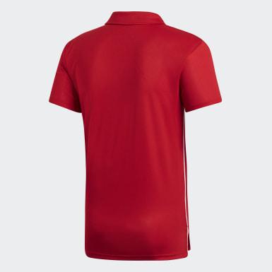 Erkek Futbol Kırmızı CORE18 POLO