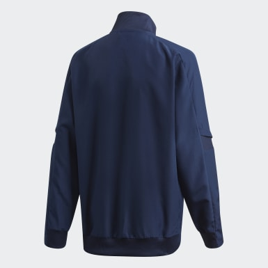Kids Football Blue Spain Presentation Jacket