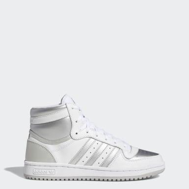 Women's Originals White Top Ten RB Shoes