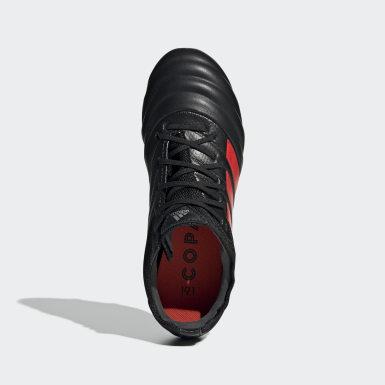 Chaussure Copa 19.1 Terrain souple Noir Enfants Football
