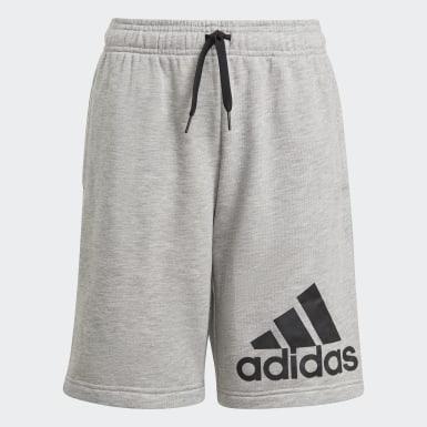 Boys Sport Inspired Grey adidas Essentials Shorts