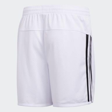 Youth Yoga White Ultimate Mesh Shorts