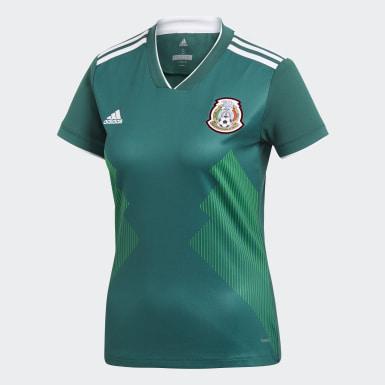 Jersey Oficial Selección de México Cuello en V Local Mujer 2018