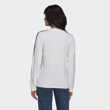 Women Originals White Adicolor Classics Long Sleeve Tee
