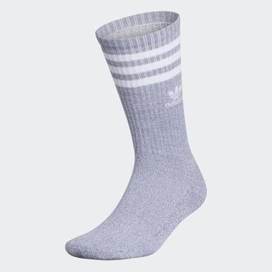 Men's Originals Grey Recycled Roller Crew Socks