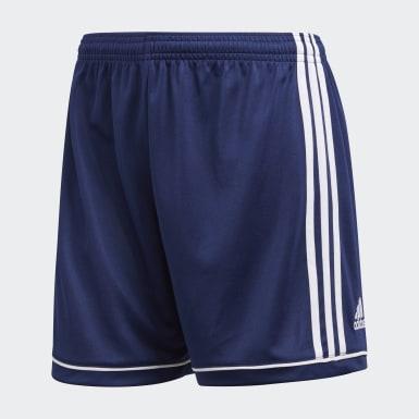 Short Squadra 17 bleu Femmes Soccer