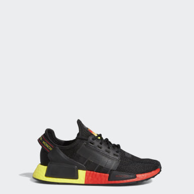 Youth Originals Black NMD_R1 V2 Munich Shoes