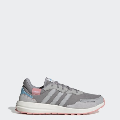 Women Sport Inspired Grey Retrorun Shoes
