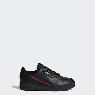 Kids Originals Black Continental 80 Shoes