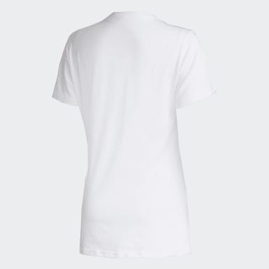 Camiseta RJ Scrawl Branco Mulher Athletics