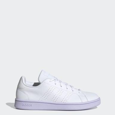 Kadın Sport Inspired Beyaz Advantage Base Ayakkabı