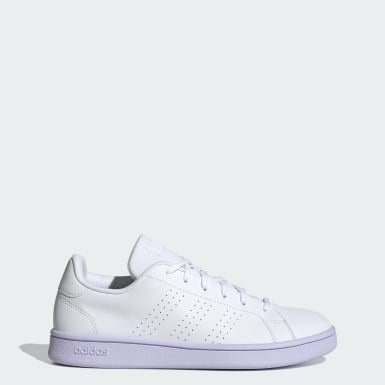 Women Lifestyle White Advantage Base Shoes