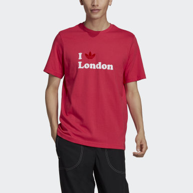 Originals London Trefoil T-Shirt Rosa