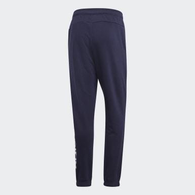 Herr Athletics Blå Essentials Linear Tapered Pants