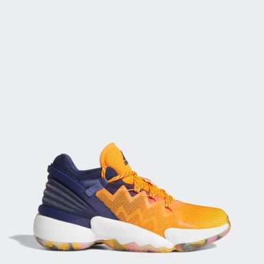 Men Basketball Orange D.O.N. Issue #2 Shoes
