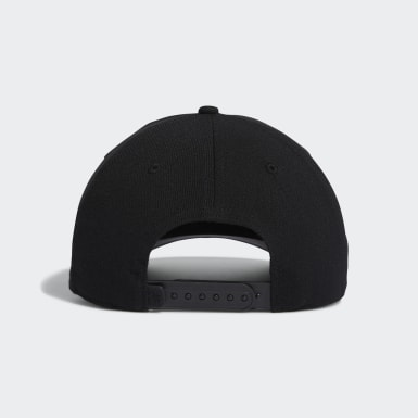 Men Golf Black Golf Flag Hat