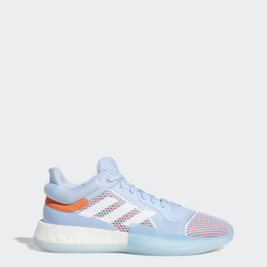 Women Basketball Blue Marquee Boost Low Shoes