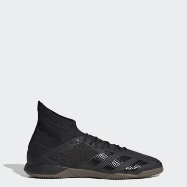 Men's Soccer Black Predator 20.3 Indoor Shoes