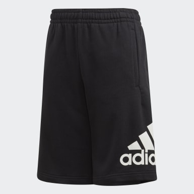 Short Must Haves Badge of Sport noir Adolescents Entraînement