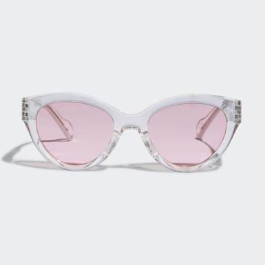 белый Очки солнцезащитные AOG000