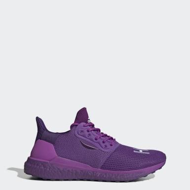 Originals Purple Pharrell Williams x adidas Solar Hu Shoes