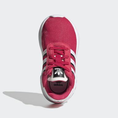 Dievčatá Originals ružová Tenisky LA Trainer Lite