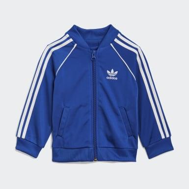 Infant & Toddler Originals Blue Adicolor SST Track Suit