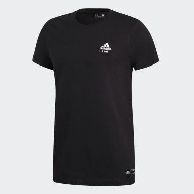Men Athletics Black adidas London Tee
