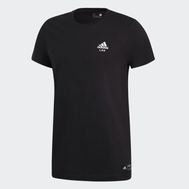 T-shirt adidas London Preto Homem Athletics