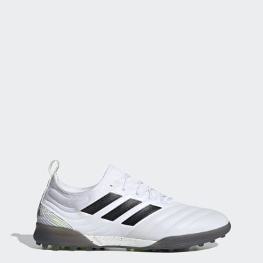 Men's Soccer White Copa 20.1 Turf Shoes