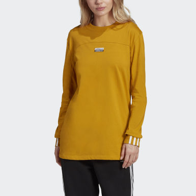 Women Originals Gold R.Y.V. Long-Sleeve Top