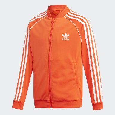 Bluza dresowa SST Pomarańczowy