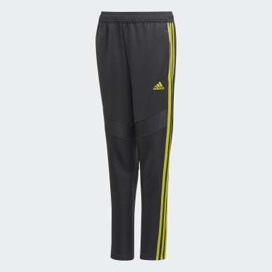 Pantaloni da allenamento Tiro 19 Grigio Ragazzo Training