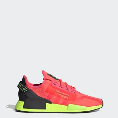 ผู้ชาย Originals สีชมพู รองเท้า NMD_R1 V2